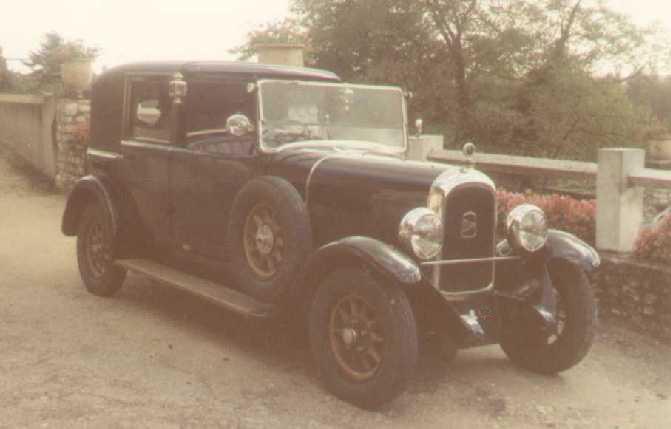 Coupé Chauffeur 1926 type 107