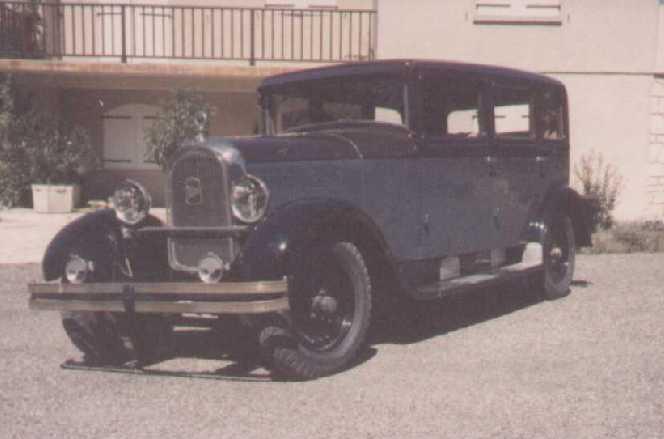 Limousine 1929 type 87 tourisme