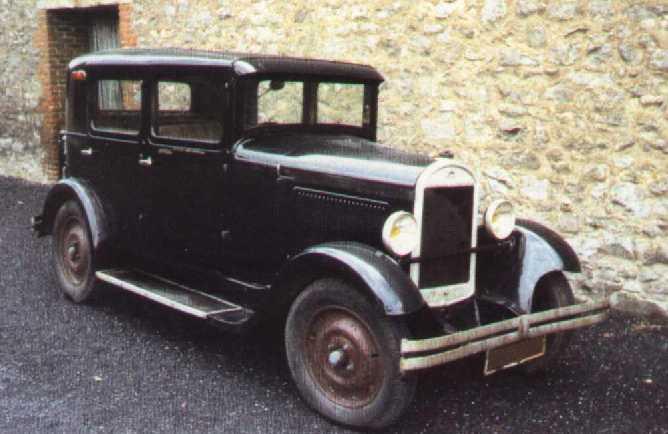 TYPE 109 1930 TOURISME